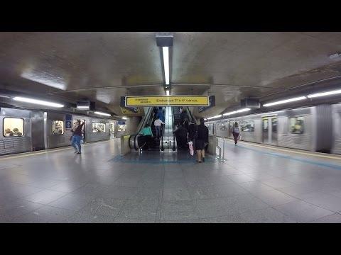 El metro; principal transporte de Brasil