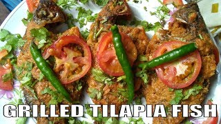 How To Make Grilled Tilapia Fish || Grilled Tilapia Fish || Grilled Tilapia Fish Recipe
