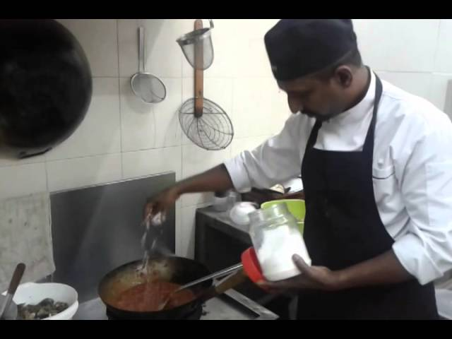 Mutton Parathel by Chef Murali