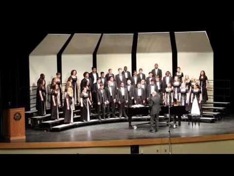 "Overland High School Cecilian Singers CHSSA Choir Contest 2016 ""Famine Song"""