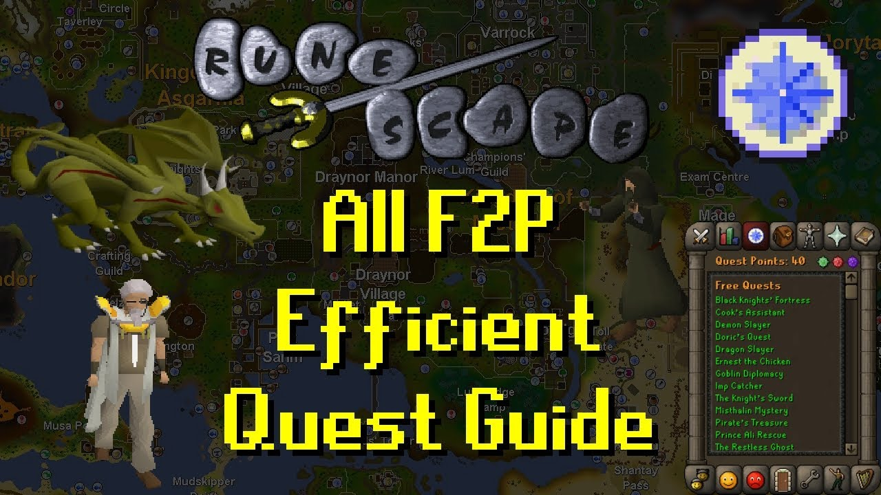 Download OSRS All F2P Efficient Quest Guide - Updated 2017
