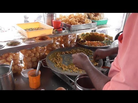 Hyderabadi Samosa Chaat Aloo Chaat & Pani Puri   Street Food Loves You