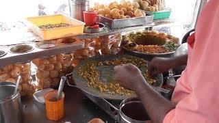 Hyderabadi Samosa Chaat Aloo Chaat & Pani Puri | Street Food Loves You