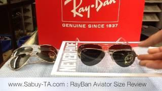 vuclip RayBan aviator size review by Sabuy-TA.com
