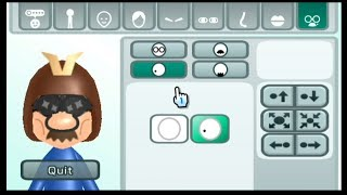Mii Maker How to make Mario in the costume of Captain Falcon Tutorial Nintendo Switch/Wii/3DS/WiiU