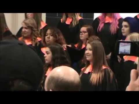 May 13, 2015  Kaspar sings a solo at Carson Valley Middle School