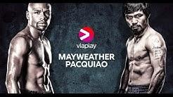 Se Mayweather vs. Pacquiao, natten mellan lördag och söndag på Viaplay PPV.