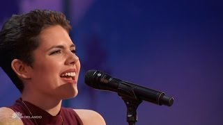 Americas Got Talent 2016 Calysta Bevier Emotional Songstress Full Audition Clip S11E04