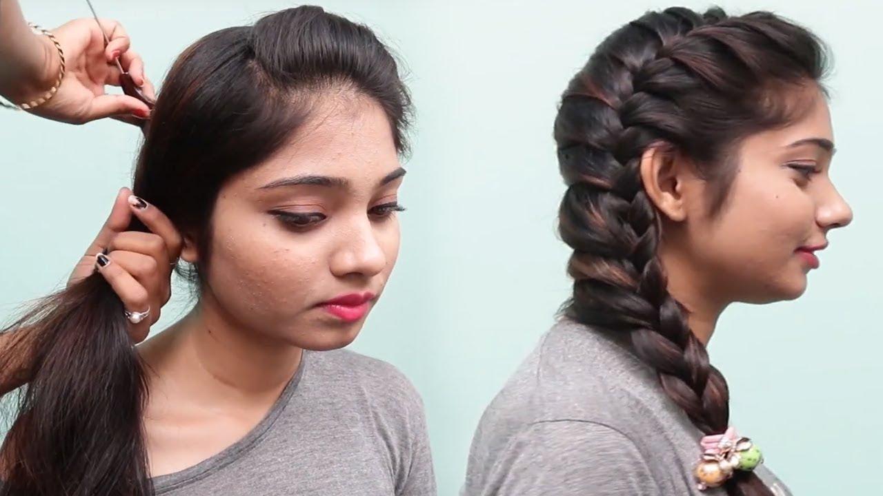 beautiful side braid hairstyles for teenage girls || 2018 hairstyles | hairstyles | hair style girl