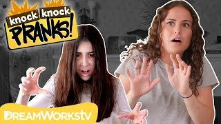 Ghost Child PRANK | KNOCK KNOCK PRANKS
