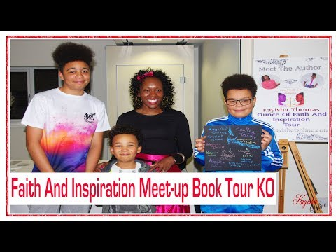 Faith And Inspiration Meet-up Book Tour Nottingham KO