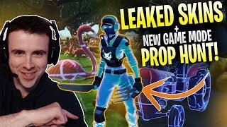 LEAKED SKINS and the UNRELEASED mode, Prop Hunt!