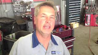 P00B7 P0128 THERMOSTAT AND HOSE REMOVAL ON THE 6 4 FORD DIESEL POWERSTROKE