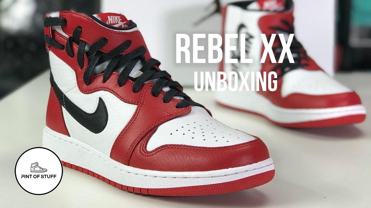 taza Porque grano  Jordan 1 Rebel XX Chicago Unboxing with SJ - YouTube