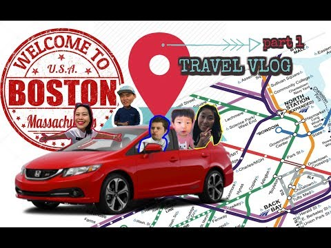 Boston | Harvard | Quincy Market | Travel Vlog (Part 1)
