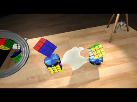 Natural Virtual Hand Interaction with Puzzle Cube in VR