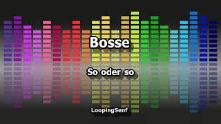 Bosse - So oder so - Karaoke
