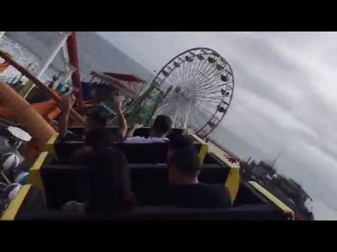 West Coaster on the Santa Monica Pier