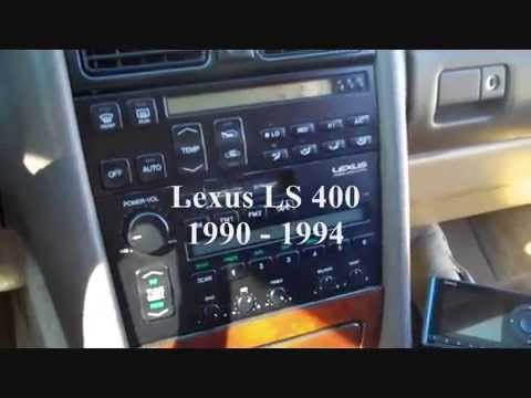 hqdefault how to lexus ls400 car stereo removal 1990 1994 display replace 91 Lexus LS400 Slammed at mifinder.co