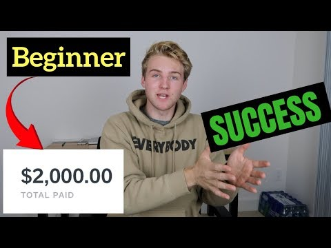 $2,000 BEGINNER Affiliate Marketing CHALLENGE (Success Story)