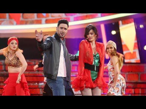 David Amor y Adriana Abenia cantan 'Échame la culpa' como Luis Fonsi y Demi Lovato - TCMS