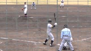 2014/4/12@コカ・ウエスト 広陵・福田良太投手(1年)の投球