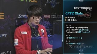 [WECG SC2 Korea National Final] Final Match set4 Stats vs herO King Sejong Station -EsportsTV