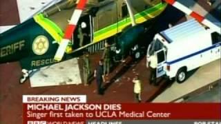 Breaking News : Michael Jackson dies in hospital (BBC World)