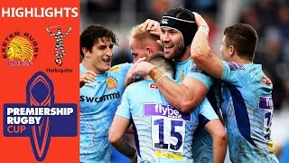 Exeter Chiefs v Harlequins | Chiefs Overwhelm Quins | Premiership Rugby Cup
