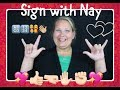 BASIC SIGN LANGUAGE FOR BEGINNERS | QUICK CONVERSATION TIPS | NAY'S DAYS