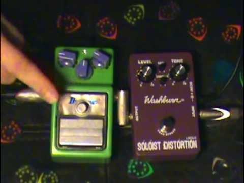Washburn Soloist vs TS-9