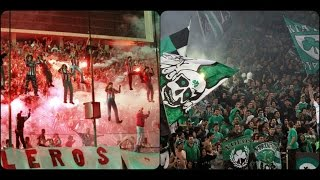 |Gate 7| vs |Gate13| Greek Ultras