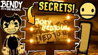 NEW Seeing Tool SECRETS in Chapter 1! Bendy and the Ink Machine Seeing Tool