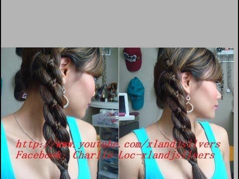 Hướng dẫn tóc: cách thực hiện kiểu tết tóc 4