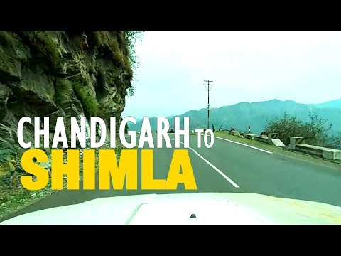 Chandigarh to Shimla (Himachal Pradesh) Road Trip April 2015 - Full HD
