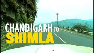 Chandigarh to Shimla Road Trip (Himachal Pradesh)