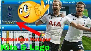 How To Create Tottenham Hotspur Team Kits & Logo | Dream League Soccer 2019