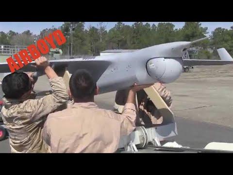 Insitu RQ-21 Blackjack UAV Launch & Recovery