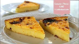 Easy Cassava Cake - 5 Ingredients
