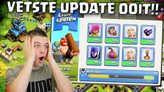 VETSTE CLASH OF CLANS UPDATE OOIT!! NEDERLANDS