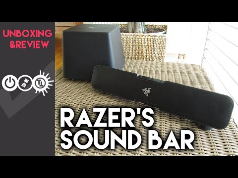 Razer Leviathan Unboxing & Review