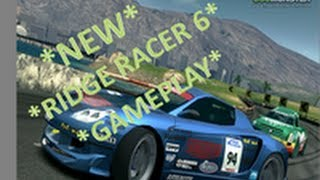 Ridge Racer 6 Gameplay (XBOX 360)