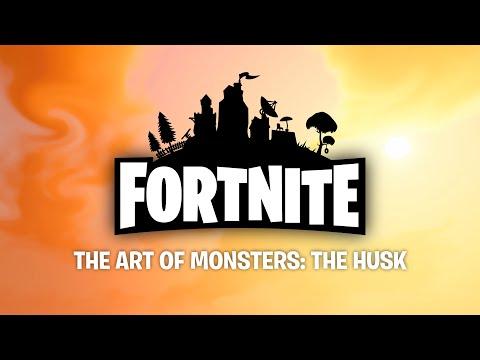 Fortnite Art of Monsters: The Husk
