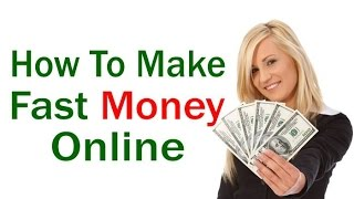 Make money quickly : online 2017 how to i earn $10000 $100000 per day