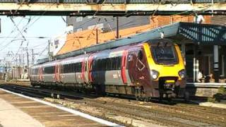 trains and tones at doncaster station 12/9/09 part 1 of 2