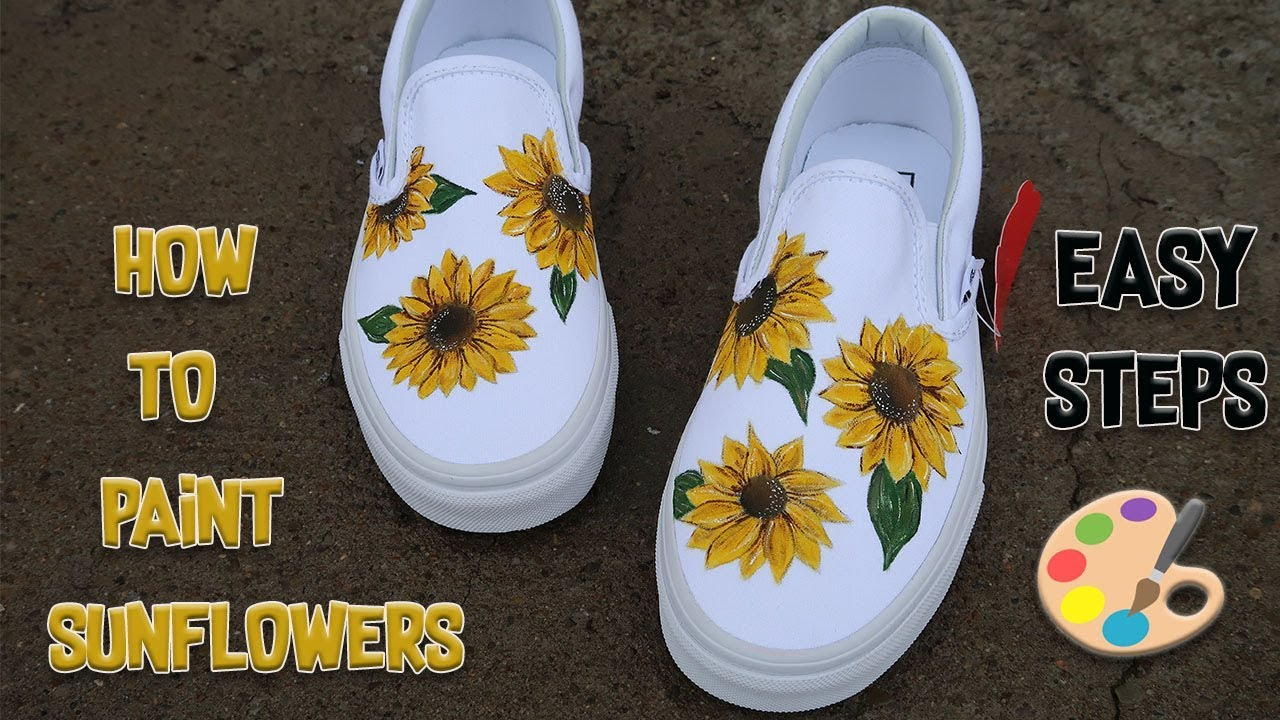 HOW TO PAINT THE PERFECT SUN FLOWER