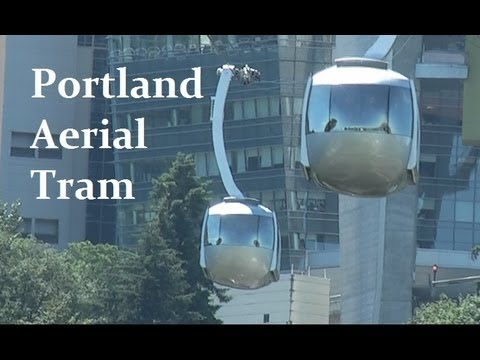 Portland Aerial Tram - Round Trip Experience.