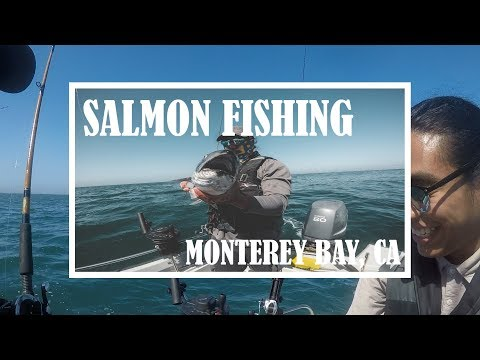 SALMON FISHING - MONTEREY BAY, CA