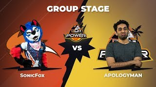 SonicFox vs ApologyMan - Group Stage: Pool A - Summit of Power