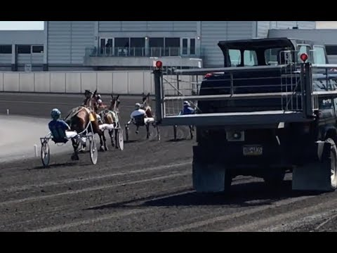 Behind The Scenes Harness Racing Starting Car - YouTube
